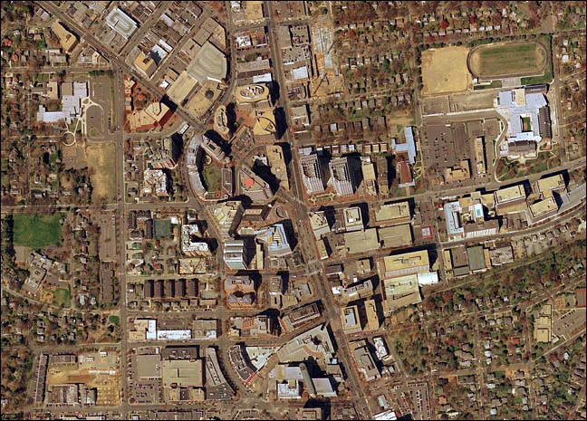 Bethesda. Aerial view. 2002.